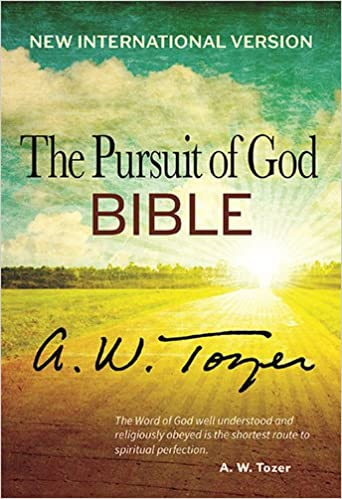 NIV PURSUIT OF GOD BIBLE A.W. TOZER