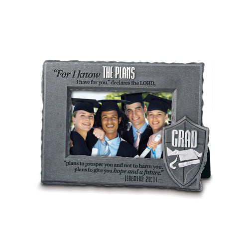 HE IS YOUR SHIELD GRADUATE PHOTO FRAME