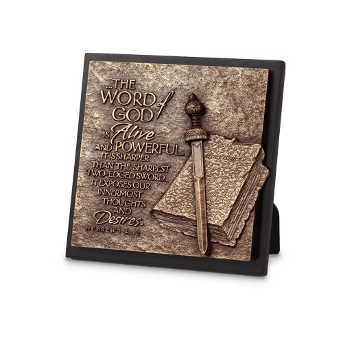 Word of God Moments of Faith Plaque