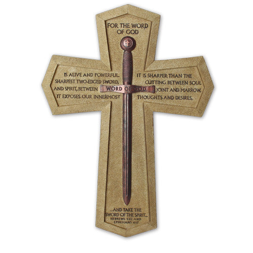 CROSS WORD OF GOD SWORD LARGE