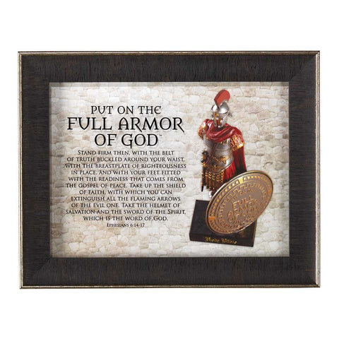 FULL ARMOR OF GOD GLASS FRAME
