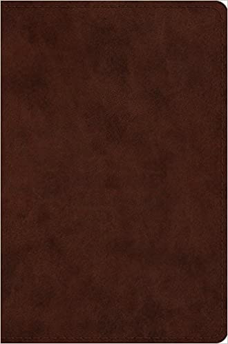 ESV Compact Bible Brown TuTone