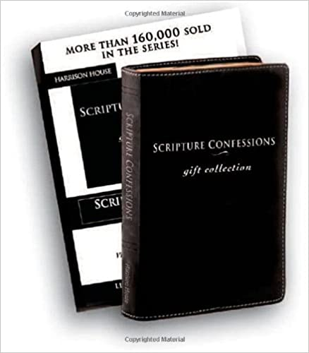 SCRIPTURE CONFESSIONS GIFT COLLECTION Leather