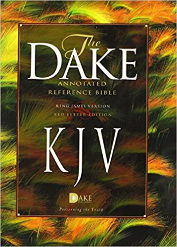 Dake Annotated Reference Bible Hard Cover