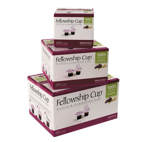 FELLOWSHIP COMMUNION PREFILLED  CUPS WITH SOFT WAFERS
