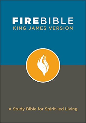 KJV Fire Bible Hard Cover