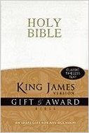 GIFT & AWARD BIBLE WHITE KJV LL