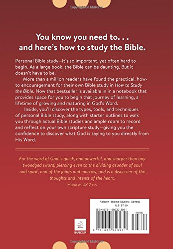 HOW TO STUDY THE BIBLE NOTEBOOK & ORGANIZER