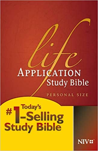 NIV Classic Life Application Study Bible Personal Size Hard Cover