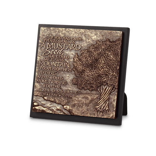Mustard Tree Moments of Faith Plaque