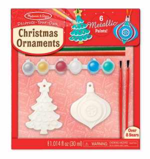 CREATED BY ME CHRISTMAS ORNAMENTS by Melissa & Doug