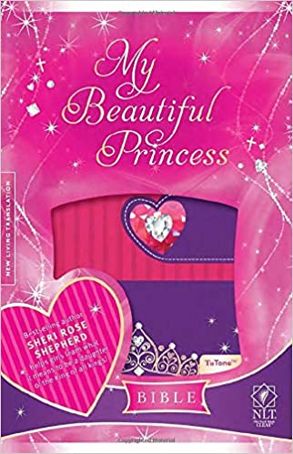 NLT MY BEAUTIFUL PRINCESS BIBLE HARD COVER