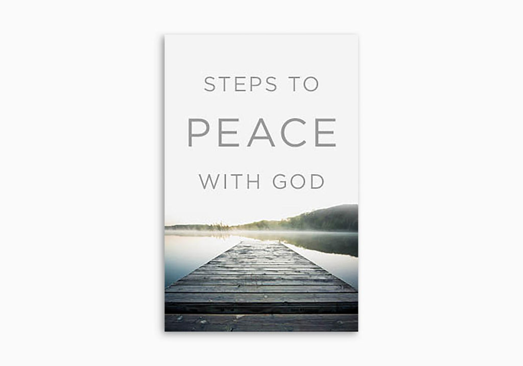 STEPS TO PEACE WITH GOD TRACT (25 PER PACK)