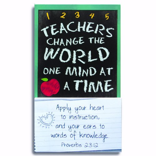 TEACHERS WEEKLY THOUGHT CALENDAR MAGNET