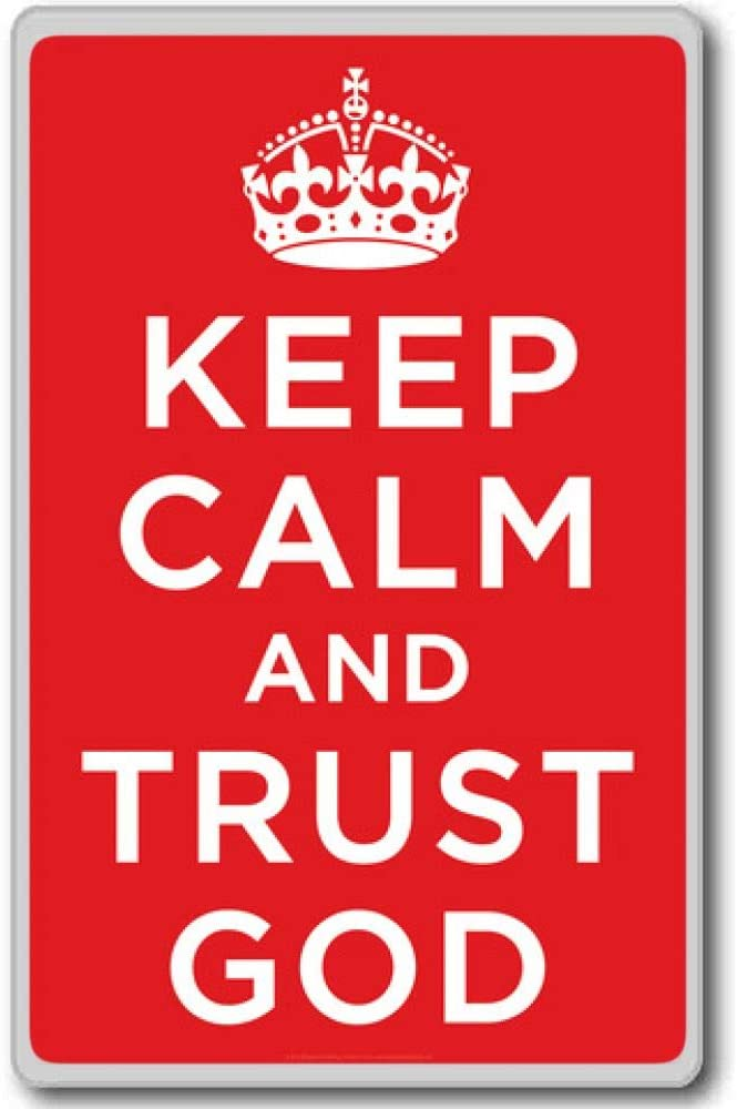 Keep Calm and Trust God Bookmark