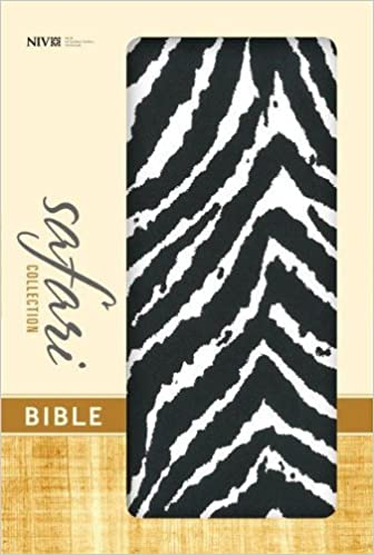 NIV Safari Collection Bible Black/White Hard Cover