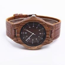 Load image into Gallery viewer, 78IGHT 2018 All Natural Classic Wood Watch For Men