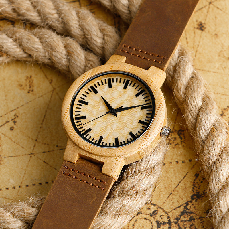 78IGHT Minimalist Wood Watch For Men / Women