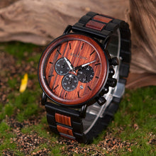 Load image into Gallery viewer, 78IGHT CEO Wood Watch For Men Luxury Mens Watch