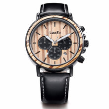 Load image into Gallery viewer, 78IGHT All Natural Men's Wood Watch Retro Style Luxury Mens Watch