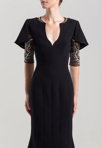 SK Three-Quarter Sleeve dress