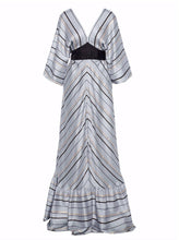 Valta Satin Stripes Dress