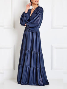 Valta Navy Gypsy Dress