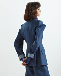 Sculpted Architect Blazer