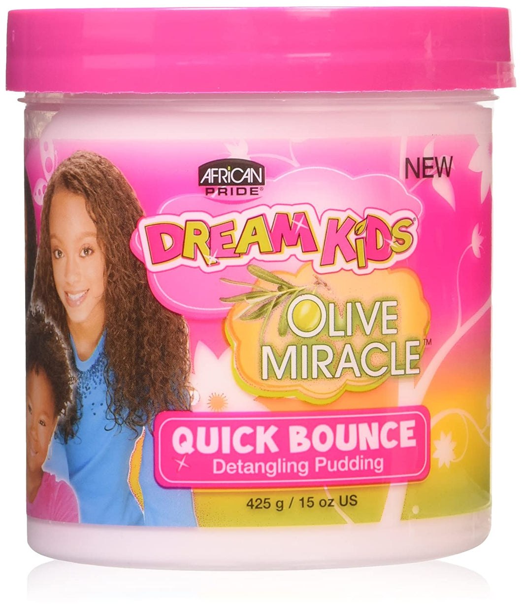 African Pride Olive Miracle Quick Bounce Detangling Pudding