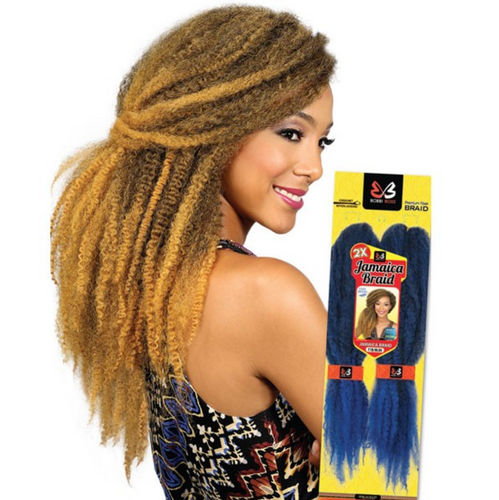 BOBBI BOSS SYNTHETIC HAIR AFRICAN ROOTS BRAID COLLECTION CROCHET 2X JAMAICA BRAID