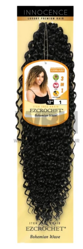 Ez crochet bohemian wave hair