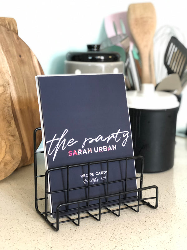 2 Recipe cards sets  - Gift Box and PDF