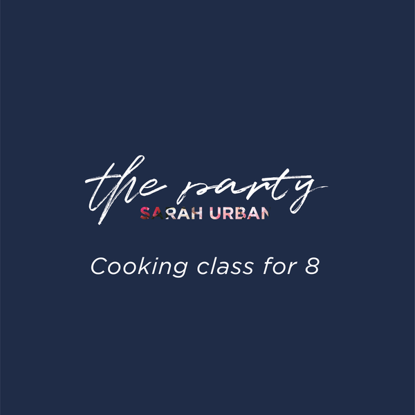 Cooking class for 8 in your Home or Office