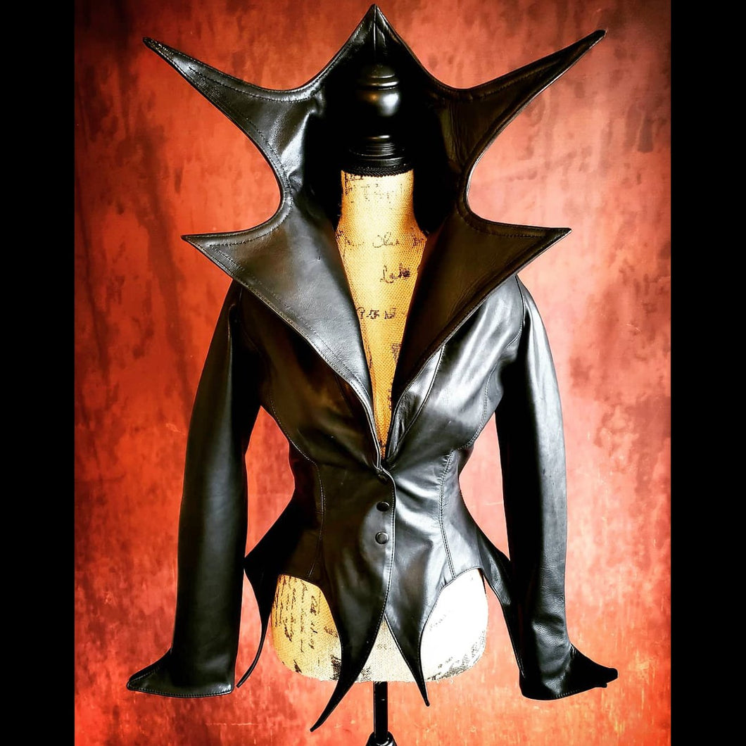 Masuimi Max's Exclusive Bat Queen Jacket Designed by Artist and Legendary Model Masuimi Max