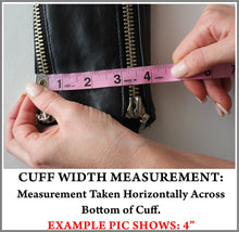 Example Picture of How to Take a Jacket Cuff Measurement