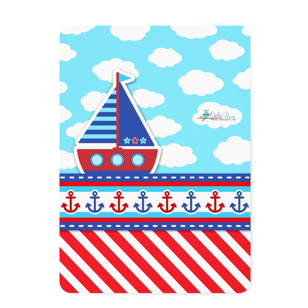 AHOY! Nautical baby shower invitation