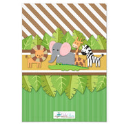 Calling All Party Animals Jungle Safari birthday party invitations