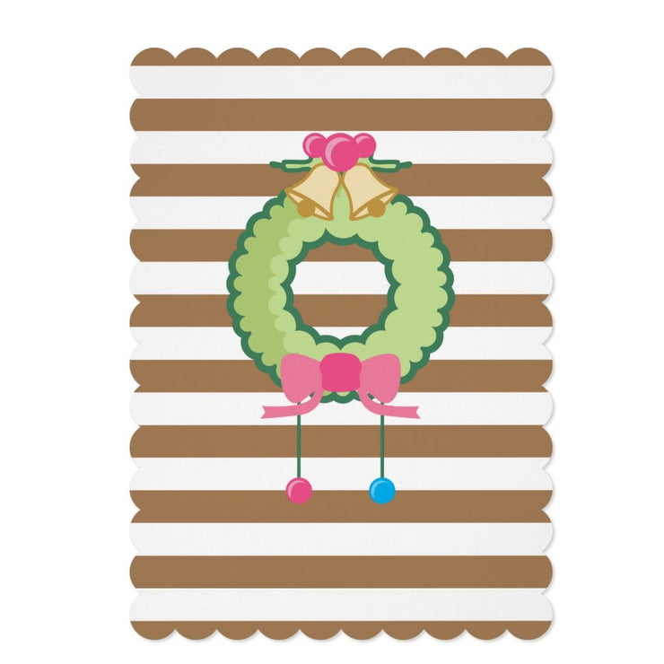 Gingerbread house birthday invitations