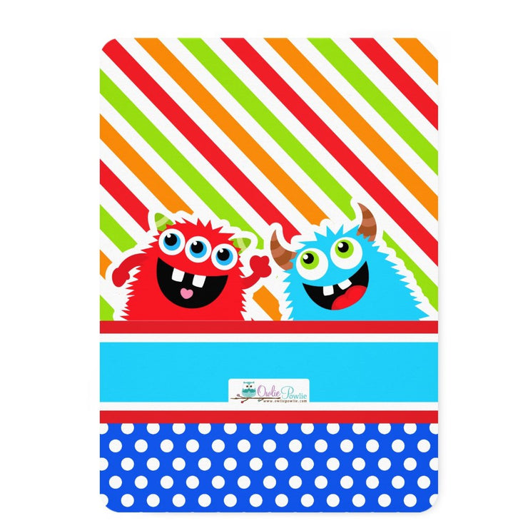 Monster Bash birthday party invitations