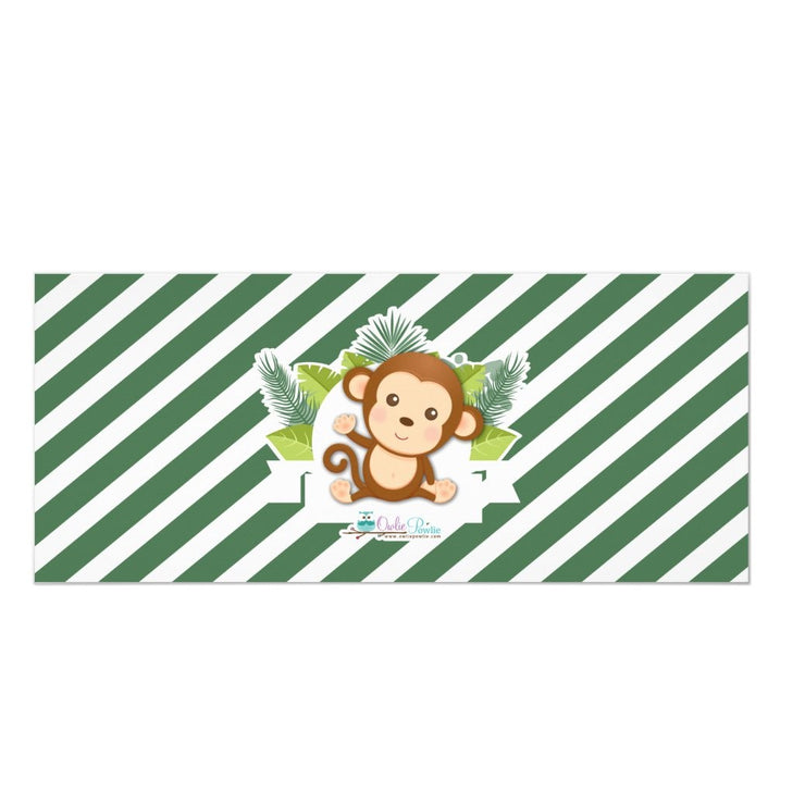 Monkey Boy Jungle ticket birthday invitations