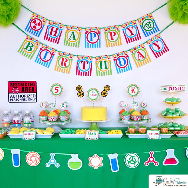 Science Birthday Party Package