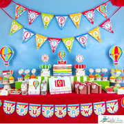 Hot Air Balloon Birthday Party Package
