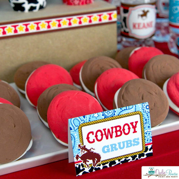Cowboy Birthday Party Package