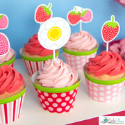 Strawberry Birthday Party Package