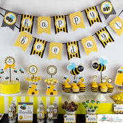 Bumble Bee Birthday Party Package