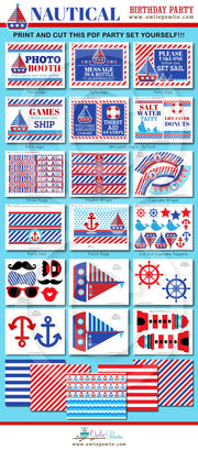 Nautical Birthday Party Package
