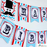 Mustache Bash Birthday Party Package