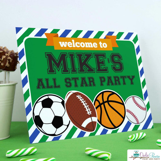 All Star Sport Birthday Party Package