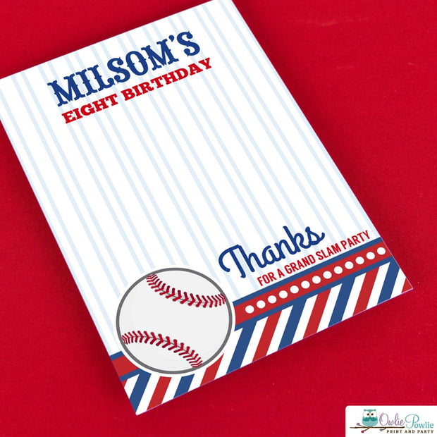 Baseball Birthday Party Package