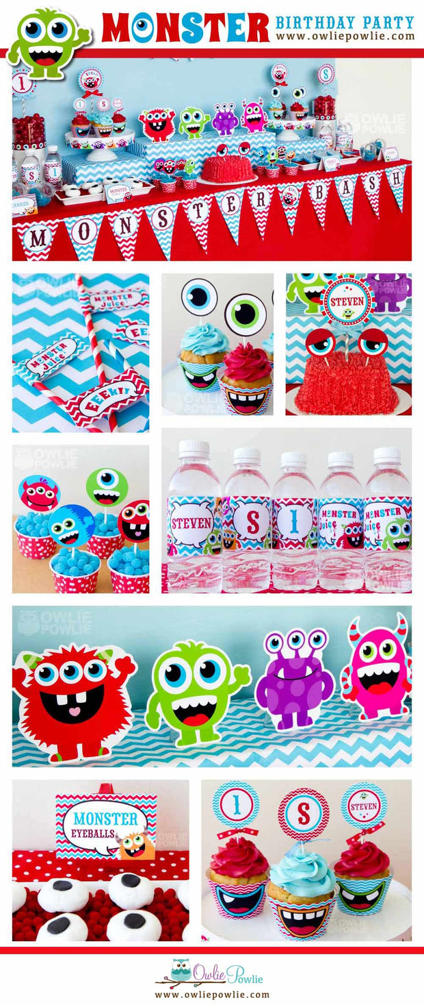 Monster Bash Birthday Party Package